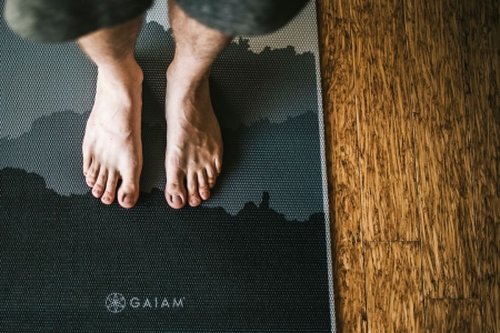 Saltea Yoga Gaiam Premium- 6 mm - Granite Mountains2