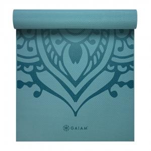 Saltea Yoga Gaiam Premium - 6 mm - Niagra