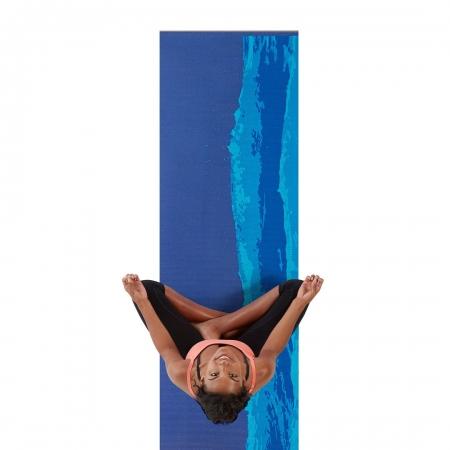 Saltea Yoga Gaiam Premium - 6 mm - Oceanscape0