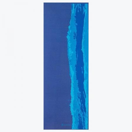 Saltea Yoga Gaiam Premium - 6 mm - Oceanscape1