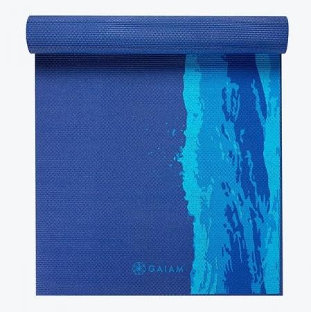 Saltea Yoga Gaiam Premium - 6 mm - Oceanscape2