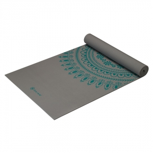 Saltea Yoga Gaiam Premium XL - 6 mm - Teal Marrakesh2