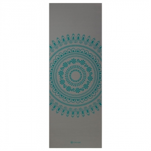 Saltea Yoga Gaiam Premium XL - 6 mm - Teal Marrakesh0