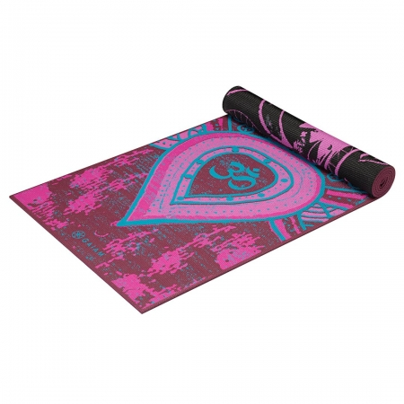 Saltea Yoga Gaiam Reversibila - 6 mm - Be Free2