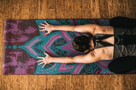 Saltea Yoga Gaiam Reversibila - 6 mm - Be Free4