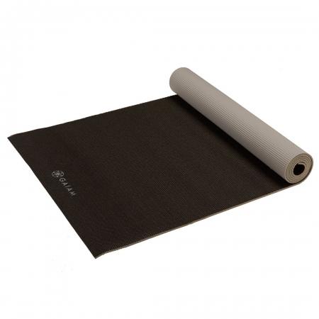 Saltea Yoga Gaiam Reversibila - 6 mm - Granite/Storm5