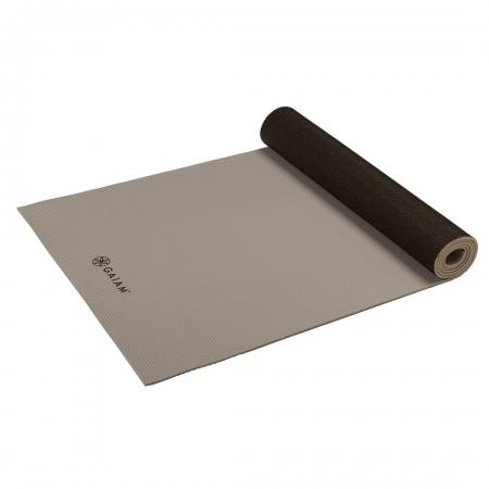 Saltea Yoga Gaiam Reversibila - 6 mm - Granite/Storm4