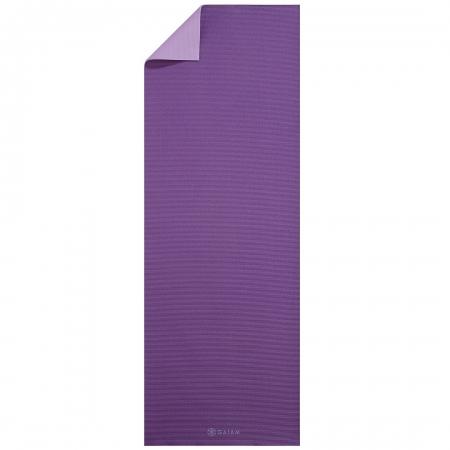 Saltea Yoga Gaiam Reversibila- 6 mm - Plum Jam0